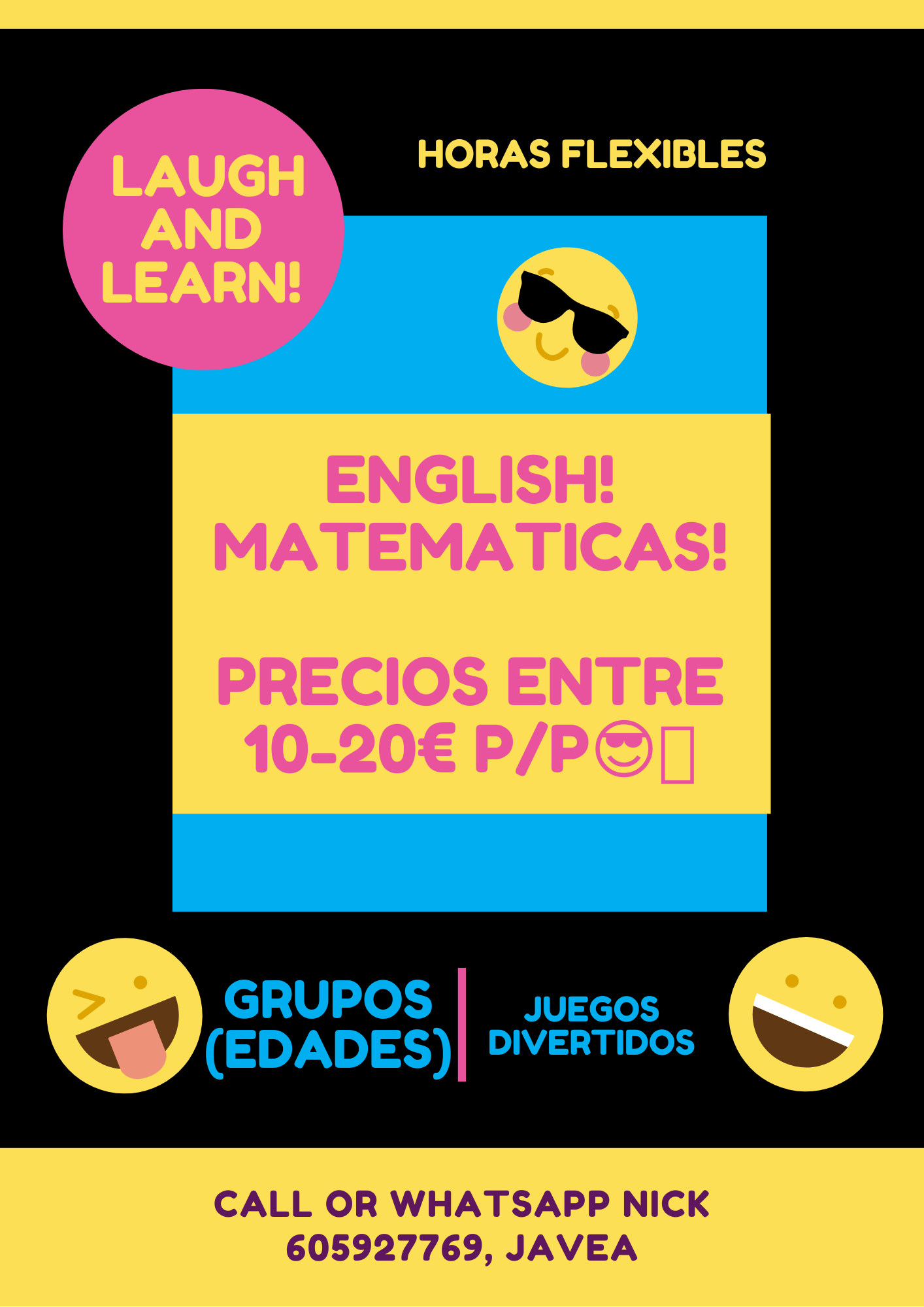 Primary Classes : English and Maths