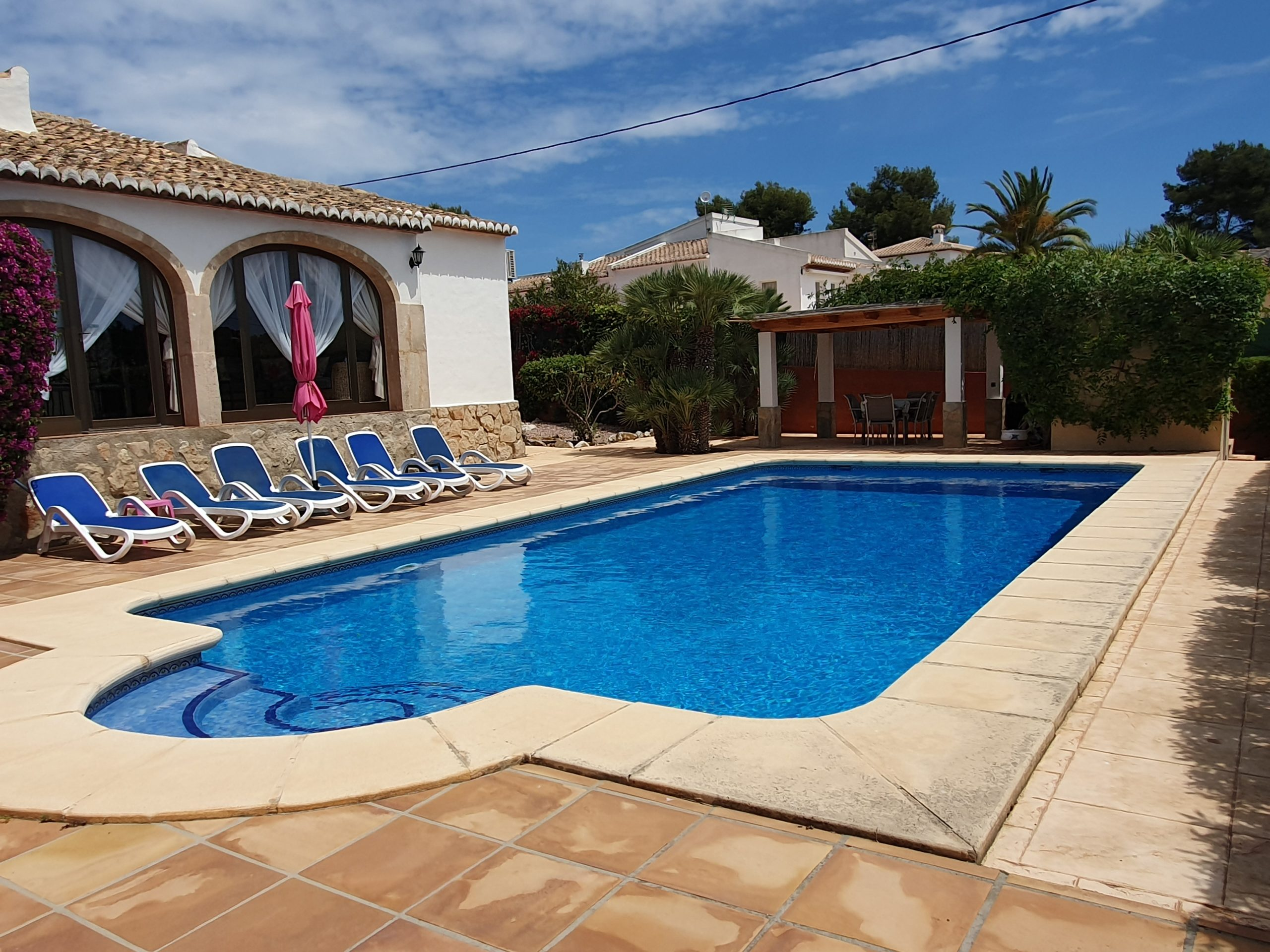 Lovely 3 Bed 2 Bath Private Villa with Pool in Javea