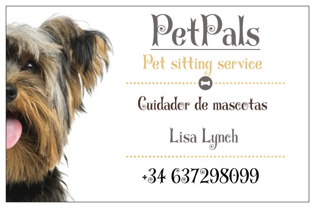 PetPals Pet Sitting Service