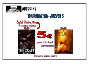 Thd Craft Legacy & Akelarre In English.. at the Drive In Denia @ Dénia | Comunidad Valenciana | Spain
