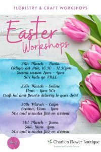 Easter Floristry and Crafting Workshop @ Salt | Xàbia | Comunidad Valenciana | Spain