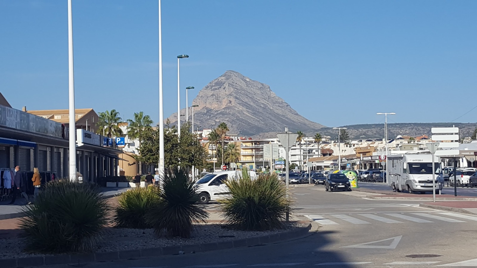 View from Javea Office