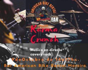 Karma Crunch at the American Bike  Bar @ Teulada | Comunidad Valenciana | Spain