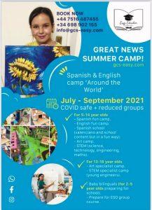Educational Summer Camps at GCS -Easy @ El Poble Nou de Benitatxell | Comunidad Valenciana | Spain