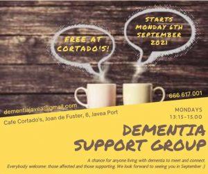 Dementia Support Group at Cafe Cortado's @ Cafe Cortado's | Xàbia | Comunidad Valenciana | Spain