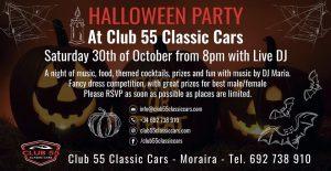Halloween at Club 55 @ El Poble Nou de Benitatxell | Comunidad Valenciana | Spain