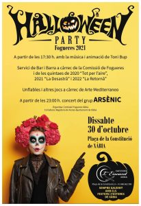 Halloween Party in Javea Old Town @ Xàbia   Comunidad Valenciana   Spain
